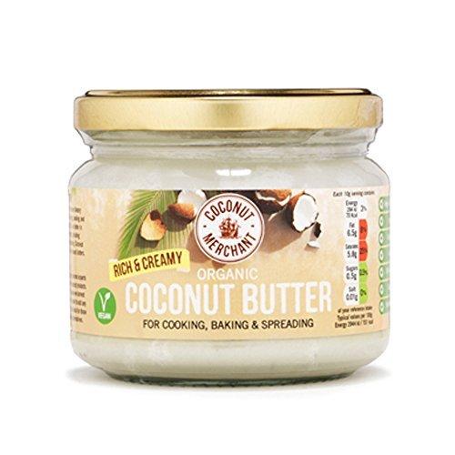 Beurre de coco biologique - riche et crémeux - 300 ml (300g x1)