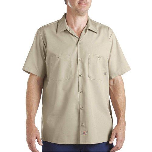 Dickies Men's Short Sleeve Industrial Work Shirt