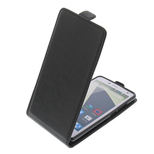 foto-kontor Tasche für ZTE Blade L3 Smartphone Flipstyle Schutz Hülle schwarz