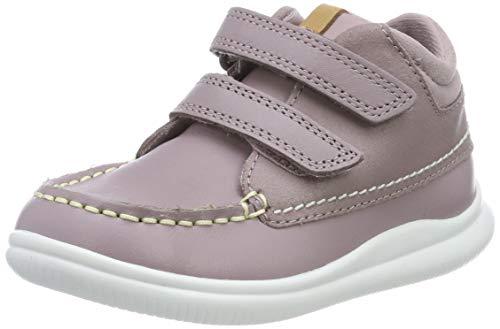 Clarks Mädchen Cloud Tuktu T Hohe Sneaker, Pink (Pink Combi Lea Pink Combi Lea), 27 EU