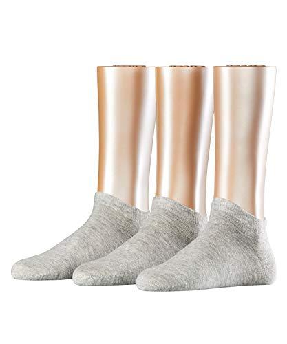 ESPRIT Damen Solid 3-Pack W SN Hausschuh-Socken, Grau (Storm Grey 3820), 36-41 (3er Pack)