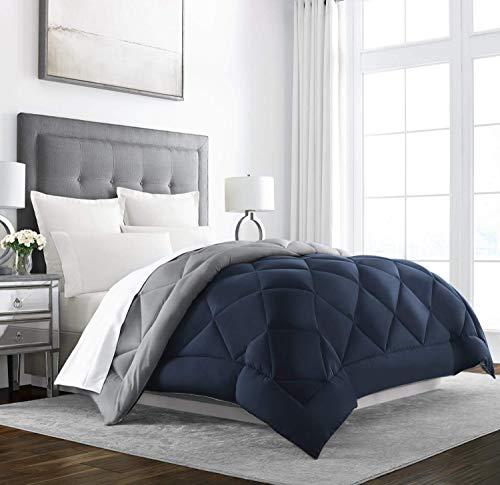 Sleep Restoration King Comforter – Premium, Down Alternative, All-Season Bedding - Oversized Reversible Comforters for Bed -...