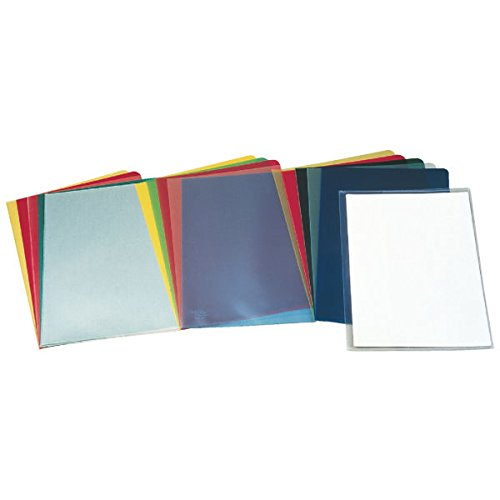 ESSELTE 46015 - Dossiers uñero PP piel de naranja 110 micras (caja 100 ud.) 30P. Folio color transparente ⭐