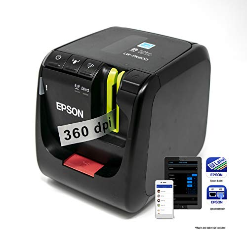 LABELWORKS LW-PX800 Industrial Wireless Label Maker - Desktop Label Printer Compatible with Large Variety of Tape Types Photo #5
