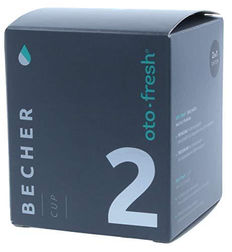 oto-fresh® Trocken- und Hygienebecher | 2 in 1 Funktion - zum Reinigen mit Hygienetabletten und Trocknen mit Trockenkapseln