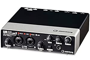 Yamaha Steinberg UR22MKII 2-Channel USB Interface by Steinberg