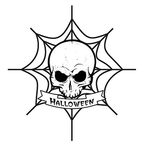 Meclelin Stanzschablonen Halloween, Stanz und Prägeschablonen Stanzen Schablonen Scrapbook Stanzformen, Zubehör für Big Shot und andere Stanzmaschine (A)
