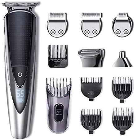 buenos comparativa Cortadora de cabello profesional para peluquero eléctrico Hatteker Cortadora de cabello para hombres … y opiniones de 2021