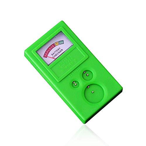 Comprobador de energía de batería de celda de moneda, botón de plástico para el hogar, probador de capacidad de batería, herramienta de reparación de reloj, para reparación de reloj, medida de baterí