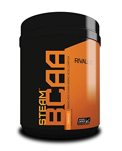 Rivalus Steam Bcaa Intra-Workout - 75 Servings - Orange, 803 g