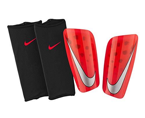 Nike Unisex-Erwachsene Mercurial Lite Schienbeinschoner, Bright Crimson/University Red/Cool Grey, XL