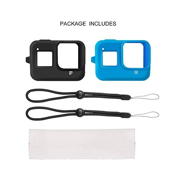 Deyard 60M Waterproof Case Compatible with GoPro Hero 8 Black Underwater Waterproof Protective Housing Case for GoPro… 5 Compatible Size: Specially designed for GoPro Hero 8. Easily operate the shutter/power button or select key/ Mode button underwater with an external button. Upgrade Convenience & Water Resistance: With an integrated design, convenient and time-saving to install and remove. The buckle is fastened with a buckle and a waterproof seal, which is good for extreme sports. 196ft Waterproof Depth & Superior Shockproof Thick Shell: With high strength shell, this GoPro case waterproof up to 196ft/60M. Protect your GoPro action camera for extreme sport like surfing, diving, snorkeling, skiing, drifting, skydiving cycling, etc.