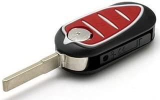 Ecusells for Alfa Romeo Mito Giulietta GTO 159 3 Button Remote Key Fob Case Blade