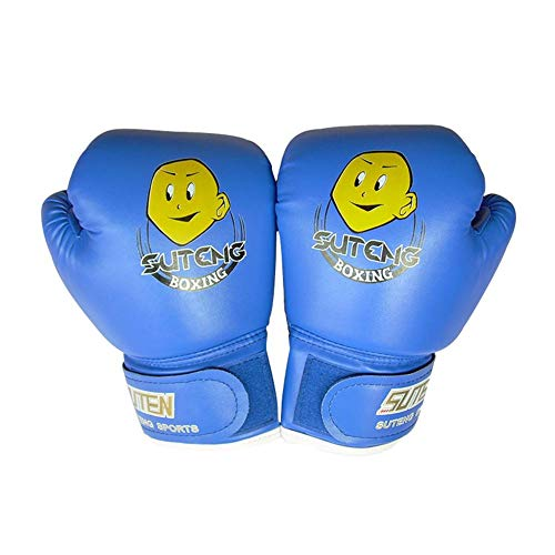 YWRD Boxhandschuhe Boxhandschuhe Kinder Boxhandschuhe für Kickboxen Schlaghandschuhe Sparringhandschuhe Trainingsboxhandschuhe Boxsackhandschuhe Blue,Freesize