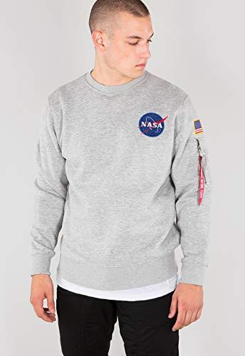 ALPHA INDUSTRIES Sweat Space Shuttle  Grey Heather,  L