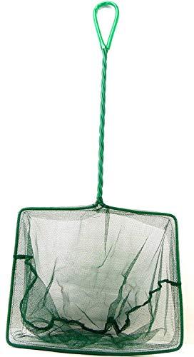 Wasserfarm Aquarium Fisch Kescher Fangnetze extra groß XXL 24cm x 22cm