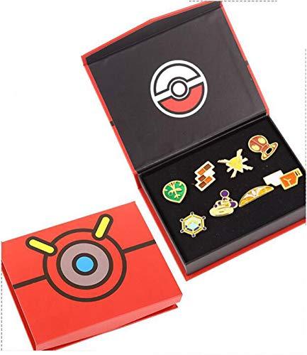 Juego de insignias de Pokémon Gym League Kalos