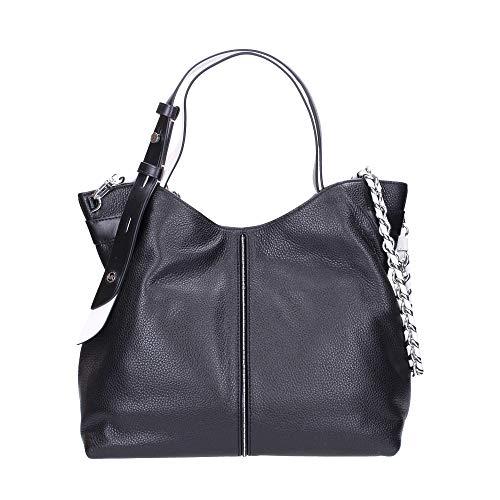 Messenger bag Messenger bag 100% leather Silver-tone hardware