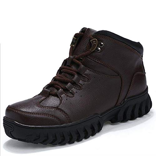 Xue heren sneakers/sneeuwschoen/bergsteiger schoenen rubber ski/Snowboard/wandelen waterdicht, antislip, anti-shake/demping rubber/leer outdoor, wandelschoenen