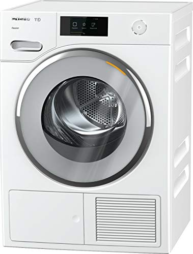 Miele TWV 860 WP Wärmepumpentrockner mit 9kg Schontrommel und Vorbügelfunktion/Trommelbeleuchtung für leichtes Be- und Entladen/integrierte Kondenswasserableitung und EcoDry Technologie