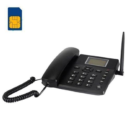 BW 2.4\'\' senza fili GSM Quadband classico Scrivania Telefono cornetta del telefono per affari o famiglia (soprattutto per le persone più anziane)