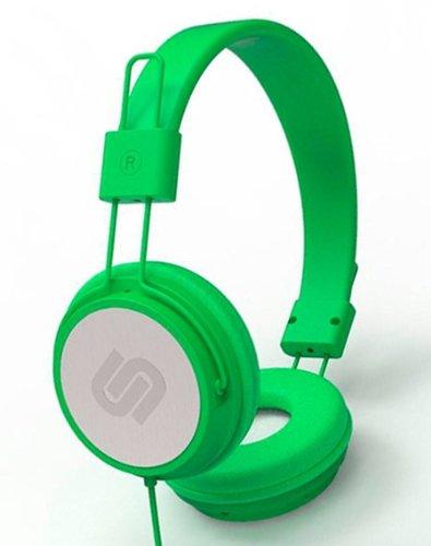 Urbanista Crispy koptelefoon met microfoon, groen