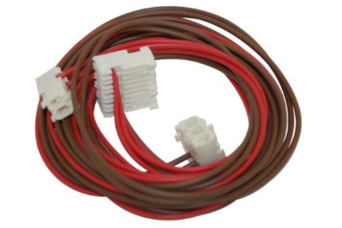 Hotpoint Indesit Machine à laver verrou de porte & Pompe à vidange Câblage. Véritable numéro de pièce c00271423