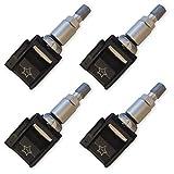 4 capteurs de pression des pneus Schrader pour smart fortwo Système de contrôle de pression des pneus 6221