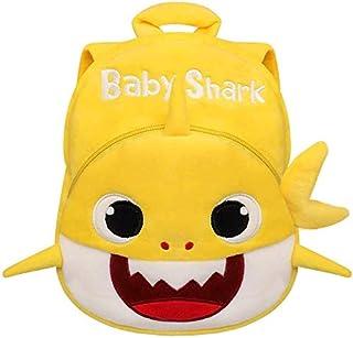 Q&M Novelties Baby Shark Toddler Mini Backpack Plush Toy