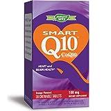 Nature's Way SMART Q10 CoQ10 100 mg, Orange Créme Flavored, 30 Chewables