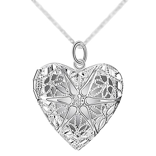 Herzförmige Halsketten für Damen, einzigartige Geschenktorte, herzförmige Halsketten, echte Herzhalsketten, personalisierte Geburtstagsgeschenke mit Steinanhänger für Freundinnen und Familie