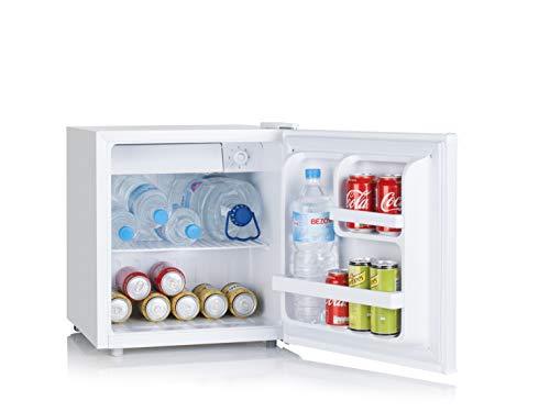 UNIVERSALBLUE | Mini Bar | Frigorífico pequeño 48L |Nevera eléctrica con Eficiencia energética A+ |Congelador