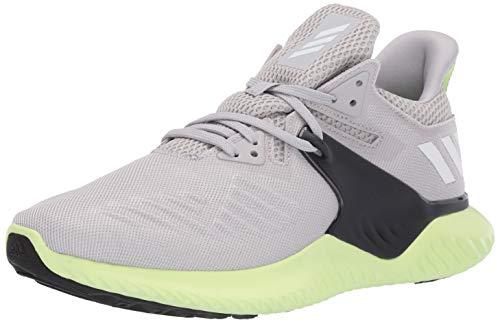 adidas Men's Alphabounce Beyond 2 Running Shoe, grey/white/yellow, 8 M US