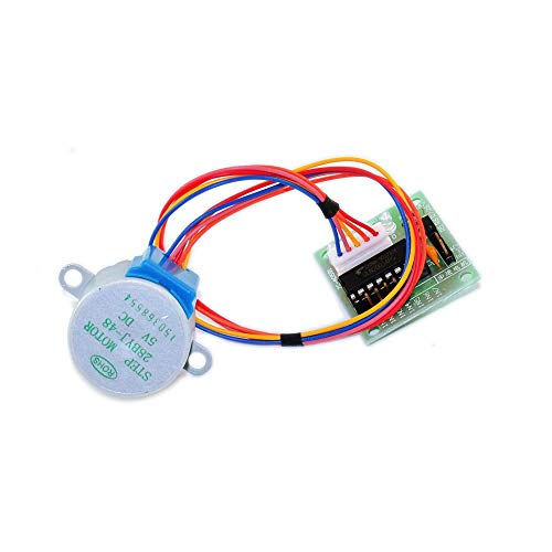 Electronic Module for Arduinos 28BYJ-48 5V 4-Phase DC Gear Stepper Step Motor + Driver Board ULN2003 with Drive Test Module Machinery Board DIY Kit Durable Power Converter