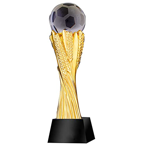 Trophy Cup Bola de Cristal Trofeo de Resina Creativa Cristal por Encargo Juegos Deportivos Baloncesto fútbol Trofeo conmemorativo