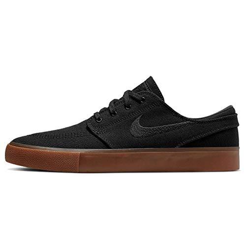 Nike Sb Zoom Janoski Ar7718-005 - Lienzo para hombre, Negro (Negro/Negro-Gum Marrón Claro Negro), 39 EU