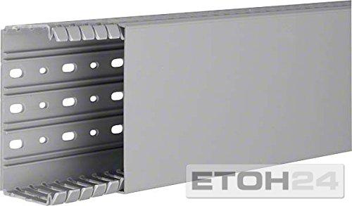 Hager BA760120 accesorio para cuadros eléctricos - Accesorios para cuadros eléctricos (Gris, PVC, EN50085-2-3, 6,5 mm, 2000 mm)