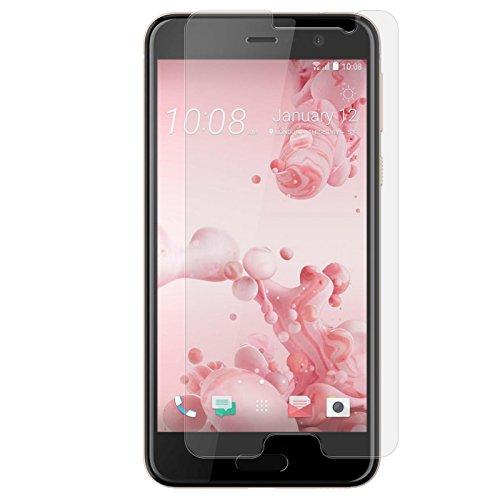 Conie 9H718 9H Panzerfolie Kompatibel mit HTC U Play, Panzerglas Glasfolie 9H Anti Öl Anti Fingerprint Schutzfolie für U Play Folie HD Clear