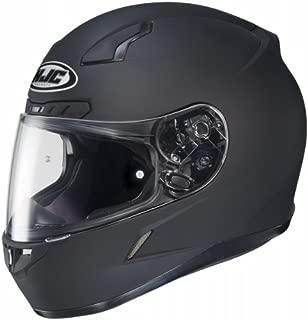 HJC Solid Mens CL-17 Full Face Motorcycle Helmet - Matte Black/Medium