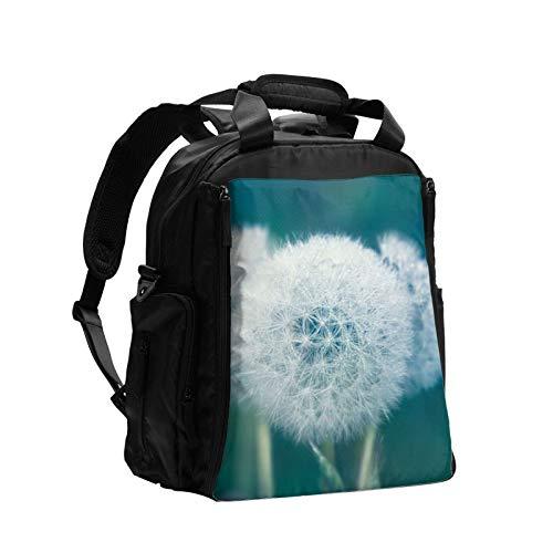 Dandelion Grass - Mochila de pañales para mujer de gran capacidad, para el cuidado de viajes, multifunción, moda