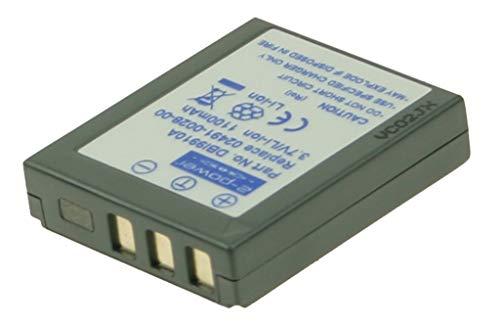 2-Power 1100mAh Li-Ion (3,7V) Kamera Ersetzt Akku für 02491-0028-00