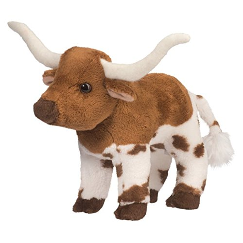 Douglas Zeb Texas Longhorn Bull Plush Stuffed Animal