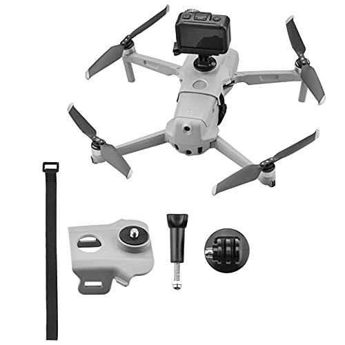 iEago RC Mavic Air 2 Fotocamera Sportiva Adattatore esteso Mount Stabilizzatore Espansione Kit con 1 4   Buco per DJI Mavic Air 2   Gopro Hero   OSMO Action Camera   Insta360 One X   Fill Light