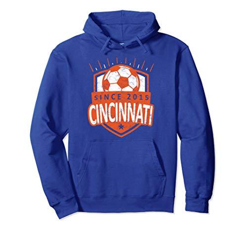 Vintage Cincinnati Soccer T-Shirt Sport Fan Gift Idea FC 513 Pullover Hoodie