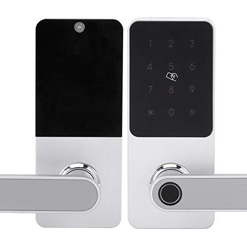 SXXYTCWL Elektronisches Türschloss, Türschloss APP WiFi CardDoor Lock, for Anti-Diebstahl-Smart-Sicherheit jianyou