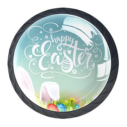 HEOH Tirador de manijas de cajón para el hogar, Cocina, tocador, Armario,Felices Pascuas