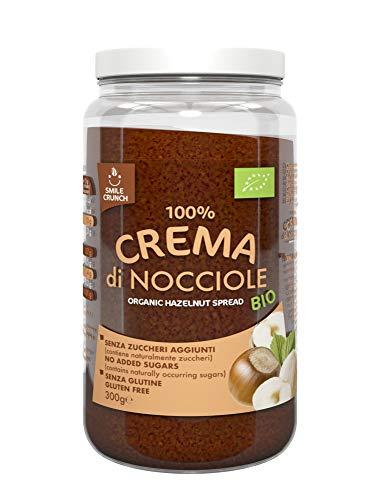 Smile Crunch 100% Crema Di Nocciole Bio - 300 Gr