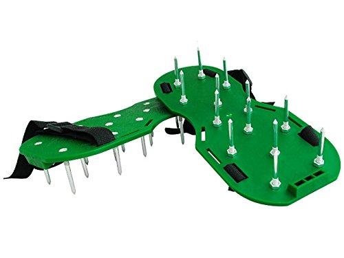 Rasenbelüfter Sandalen Vertikutierer Rasenlüfter Nagel-Schuhe Rasen Universal #021