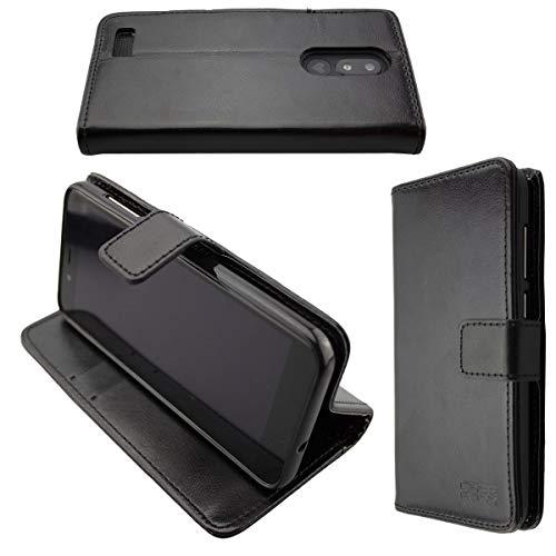 caseroxx custodia per Emporia Smart 3, Bookstyle-Case Custodia protettiva book cover per smartphone in colore nero
