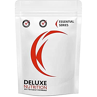 Deluxe Nutrition 1Kg L-Glutamine Powder Resealable Pouch